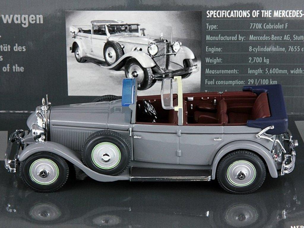 1:43 Minichamps Mercedes-Benz 770K Cabriolet F Kaiser Wilhelm II