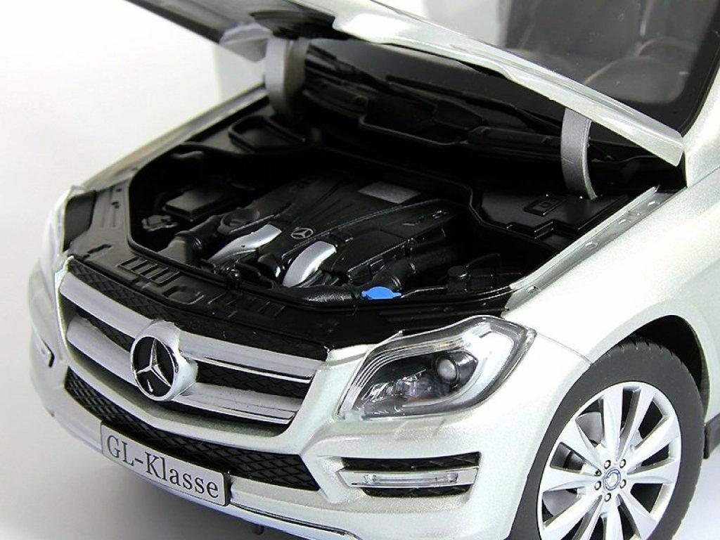 1:18 Norev Mercedes-Benz GL-class 2012 X166 серебристый мет