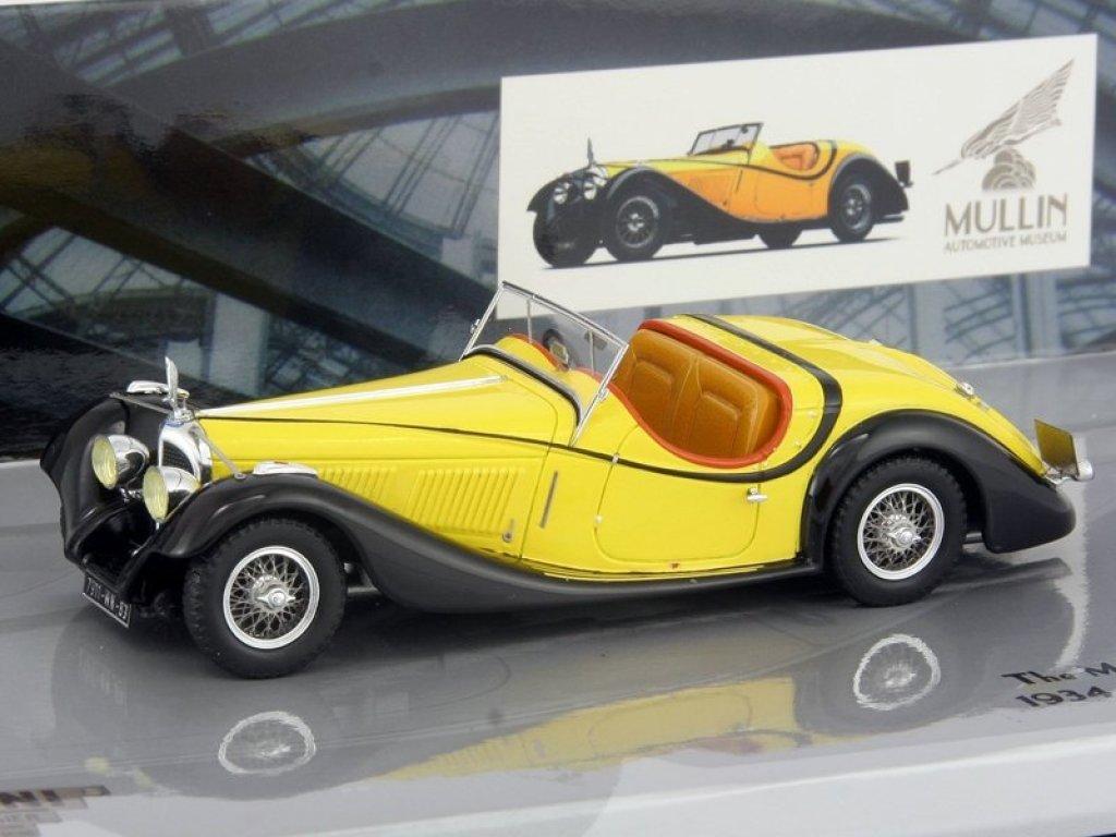 1:43 Minichamps VOISIN C27 GRAND SPORT CABRIOLET - 1934