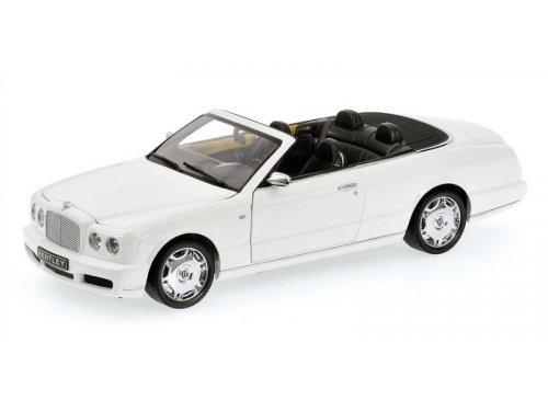 1:18 Minichamps Bentley Azure 2006 кабриолет белый