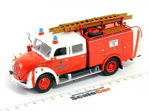 1:43 Minichamps Magirus-Deutz Merkur TLF16 Feuerwehr Dortmund пожарный