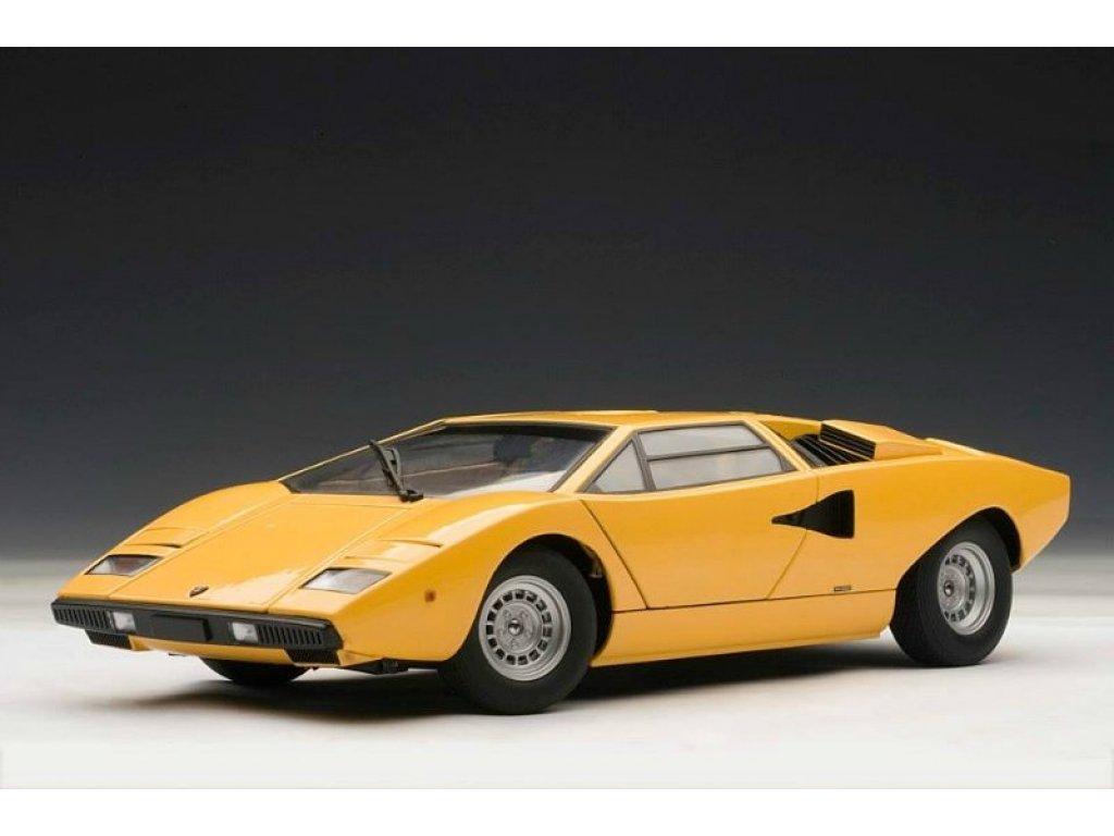 1:18 AUTOart LAMBORGHINI COUNTACH LP400 1974 (YELLOW)