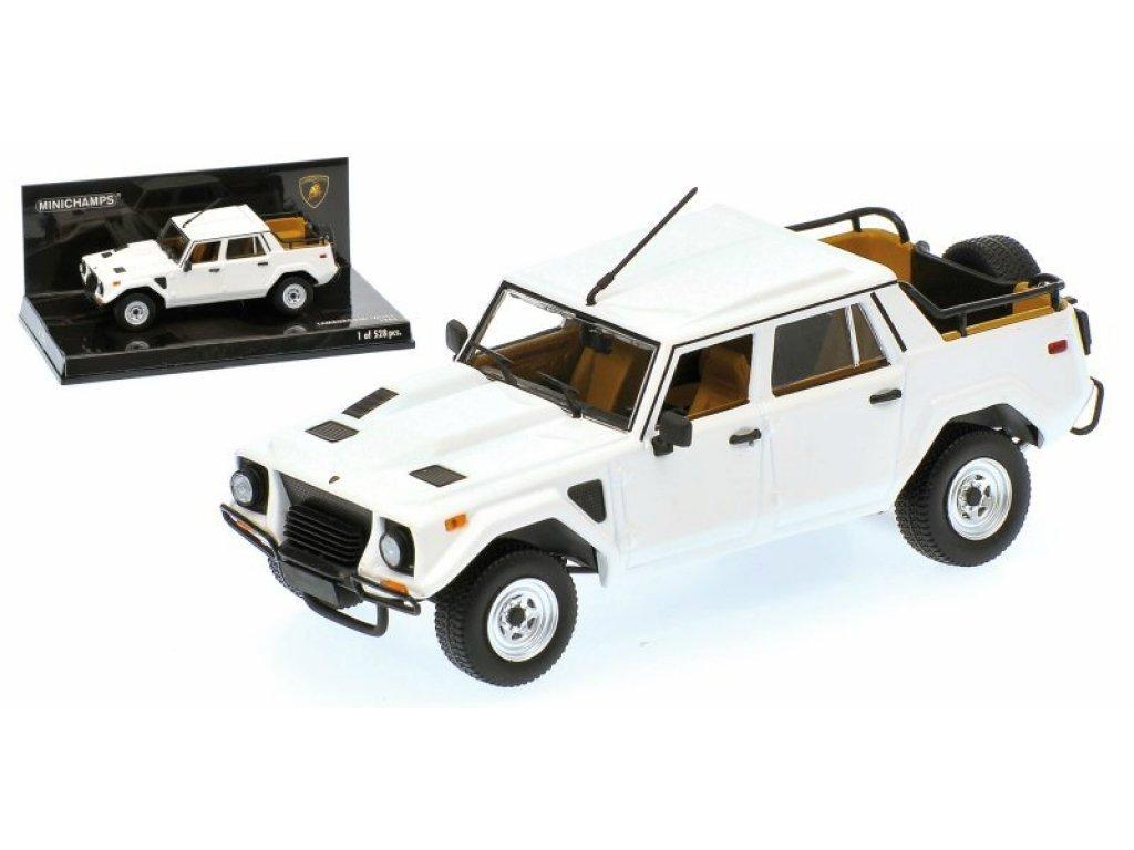 1:43 Minichamps LAMBORGHINI LM002 - 1984 - WHITE