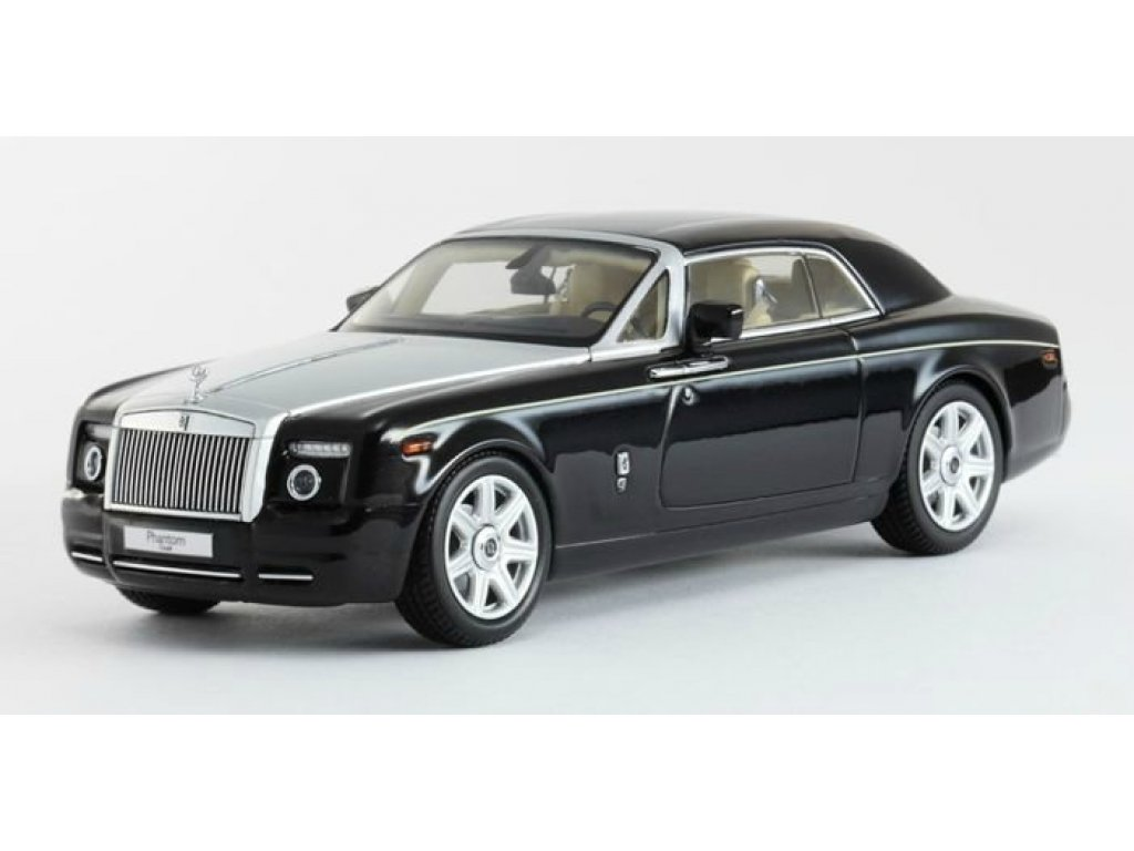 1:43 Kyosho Rolls Royce Phantom Coupe Diamond Black