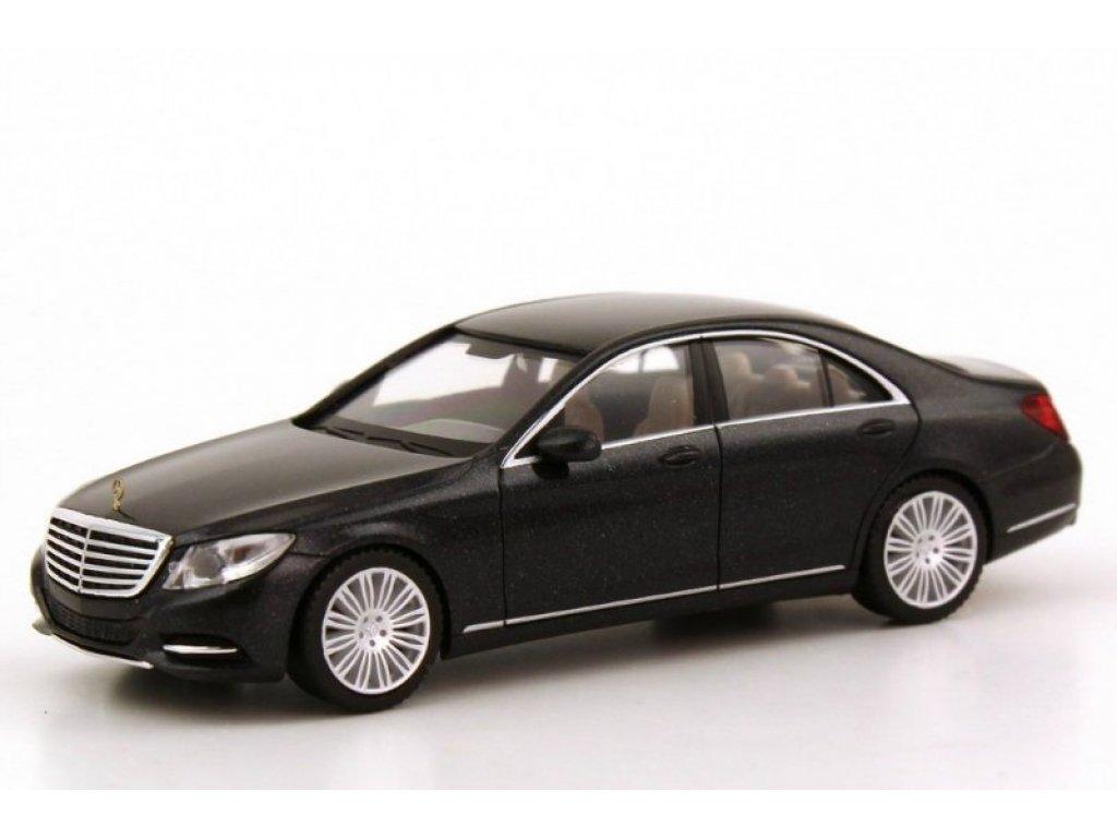 1:87 Herpa Mercedes-Benz S-class W222 2013 черный