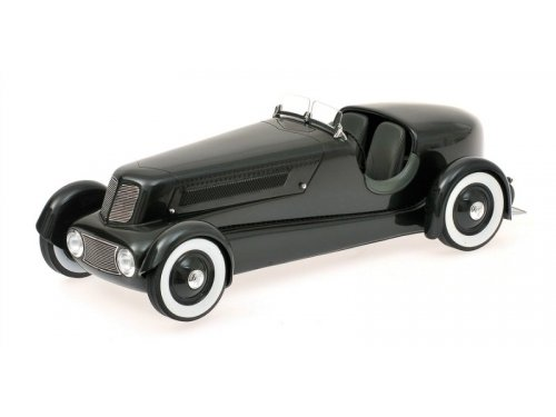 1:18 Minichamps FORD EDSEL ROADSTER - 1934 - PEARL ESSENCE GUN METALLIC DARK GREY