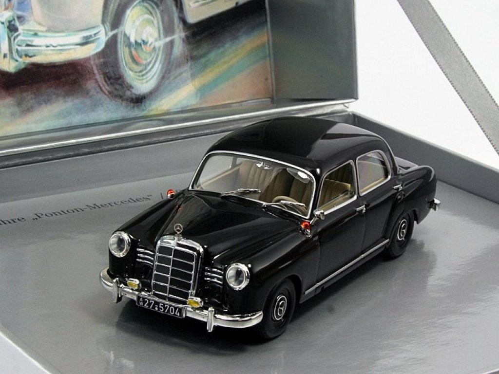 1:43 Minichamps Mercedes-Benz 180 W120 60 лет Ponton-Mercedes 1953-1957