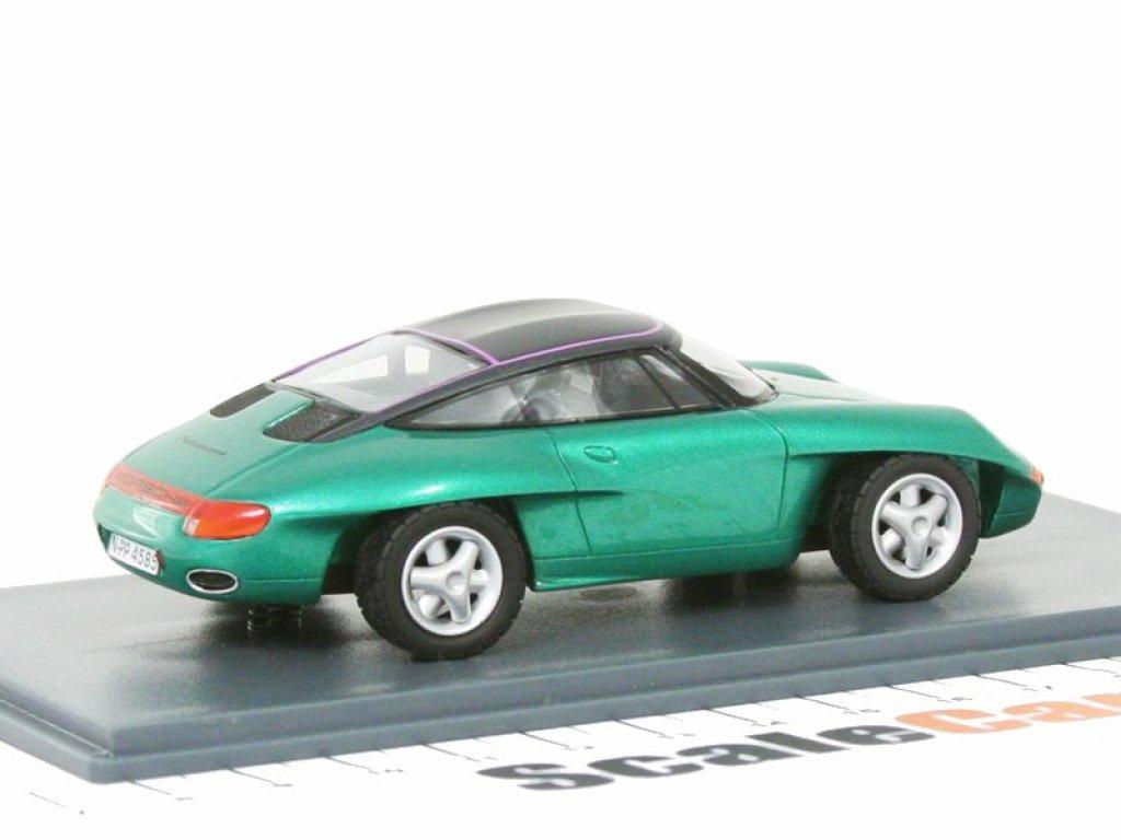 1:43 NEO Porsche Panamericana Concept Car 1989 зеленый металлик