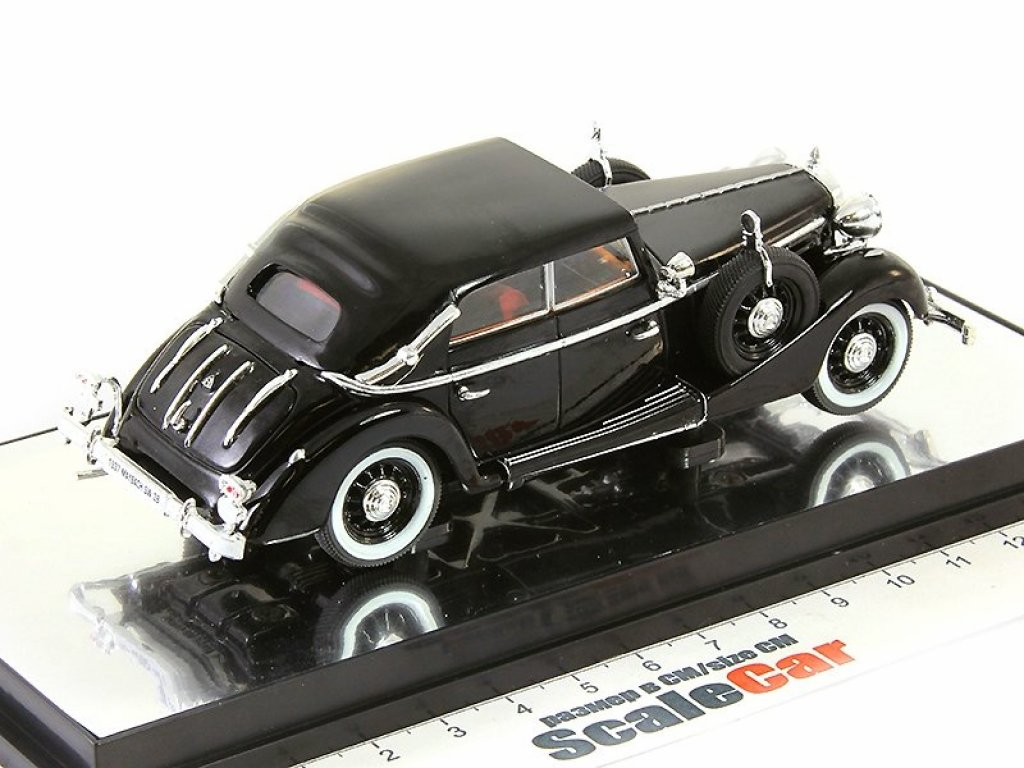 1:43 Signature Maybach SW38 cabriolet 4-doors 1938 black