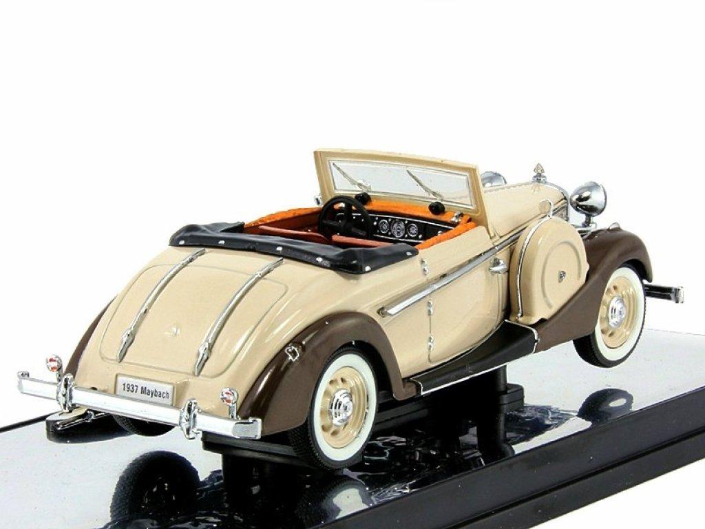 1:43 Signature Maybach SW38 2-doors sport 1937 бежевый/коричневый