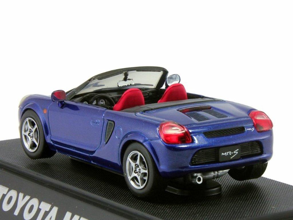 1:43 Ebbro Toyota MR-S (MR2) roadster синий