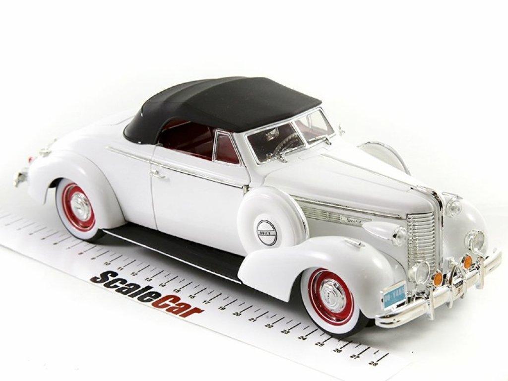 1:18 Signature Buick Century Convertible 1938 белый