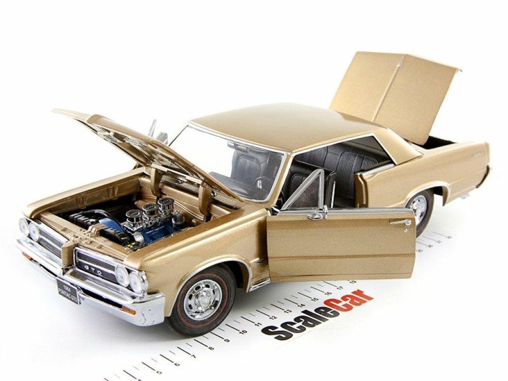 1:18 Sunstar Pontiac GTO 1964 бронзовый