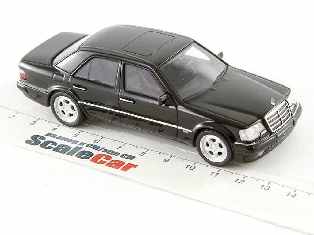 1:43 Minichamps BRABUS 6.5 (Mercedes-Benz 500E W124) 1989 черный