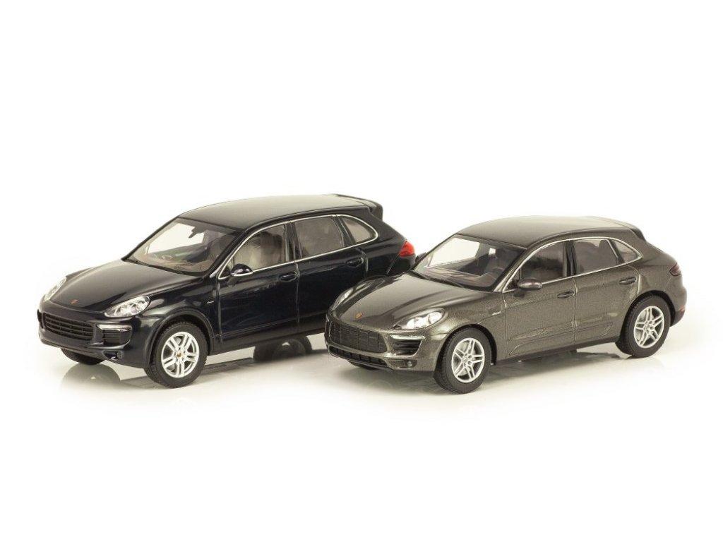 1:43 Minichamps Porsche Macan S diesel темно-серый