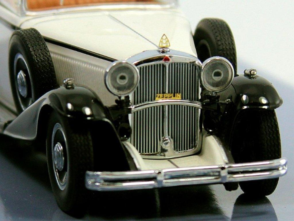 1:43 Minichamps Maybach Zeppelin 1932 White/Black (белый с черный)