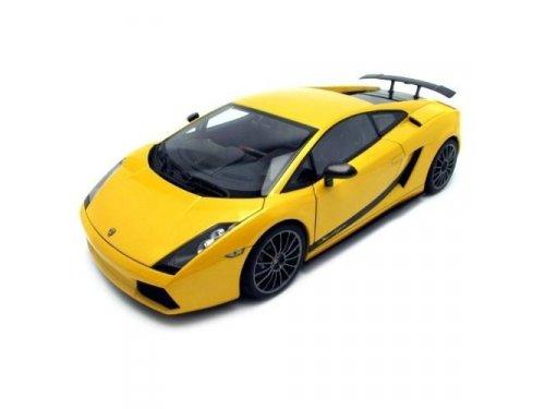 1:18 AUTOart Lamborghini Gallardo Superleggera желтый
