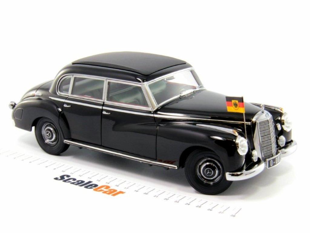 1:18 Norev Mercedes-Benz Typ 300 Adenauer State Limousine W186 черный