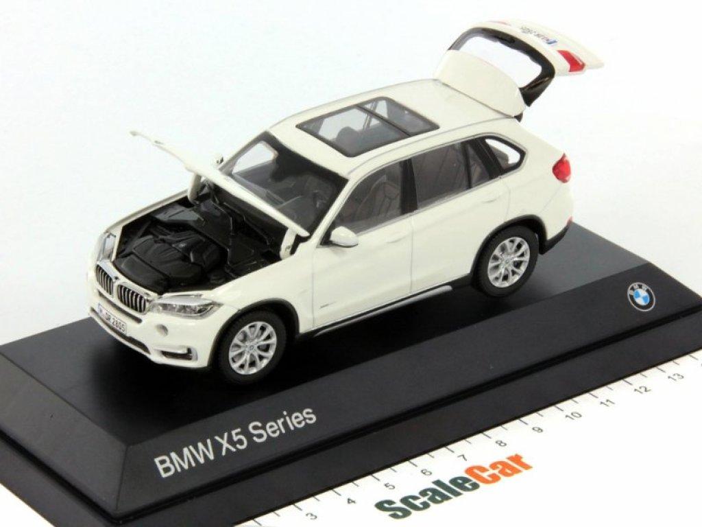 1:43 Paragon BMW X5 2014 F15 альпийский белый
