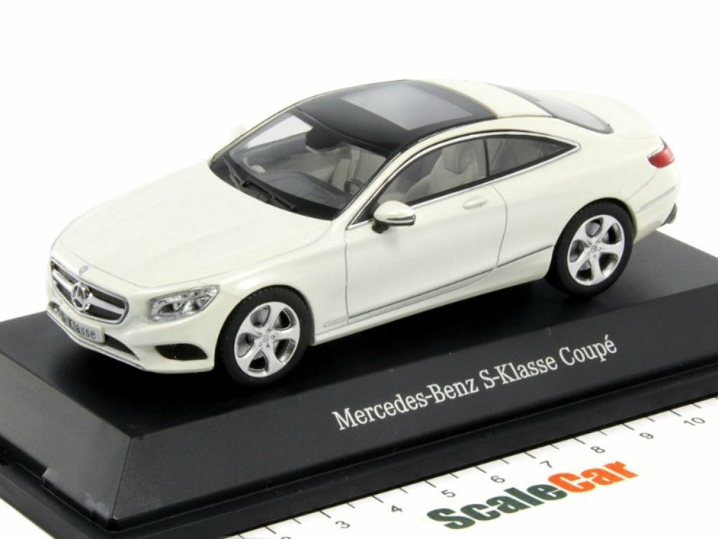 1:43 Kyosho Mercedes-Benz S-class Coupe 2014 C217 белый