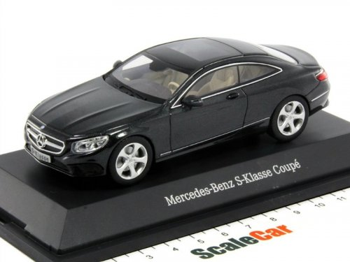 1:43 Kyosho Mercedes-Benz S-class Coupe 2014 C217 черный мет