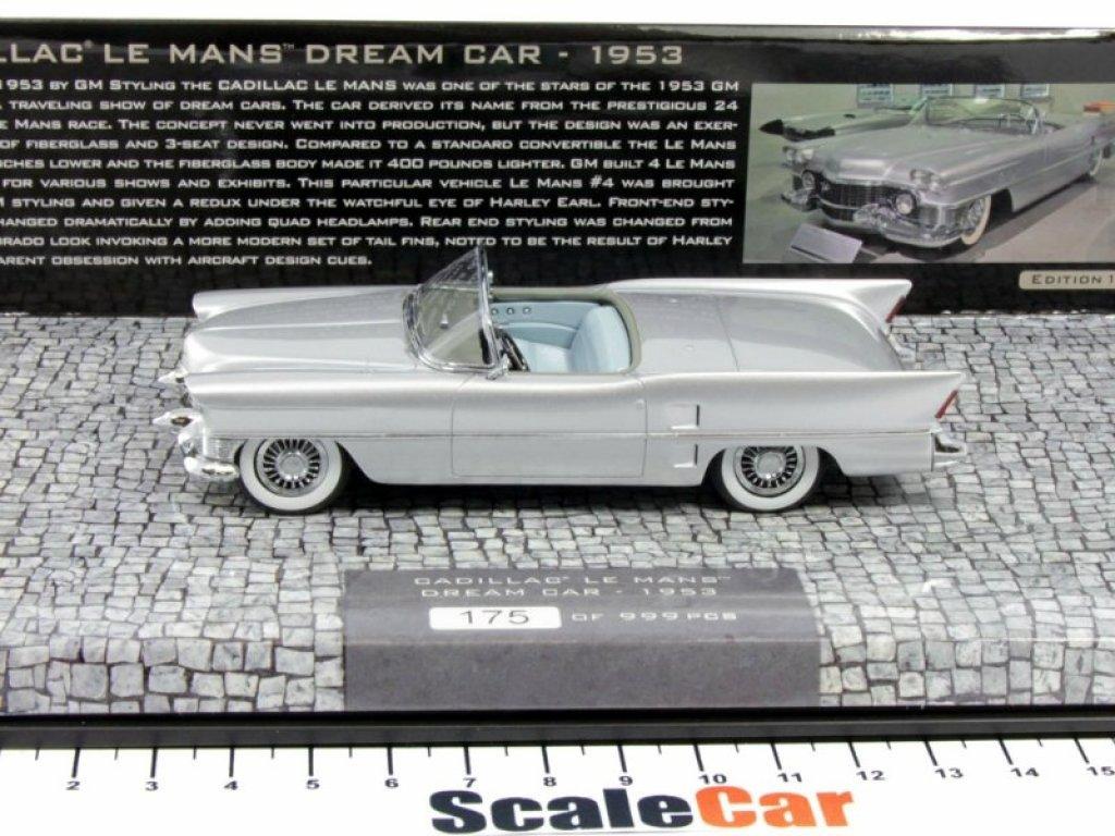1:43 Minichamps CADILLAC LE MANS DREAM CAR - 1953