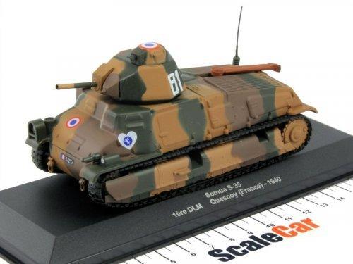 1:43 Altaya Somua S-35 1st DLM Quesnoy (France) 1940