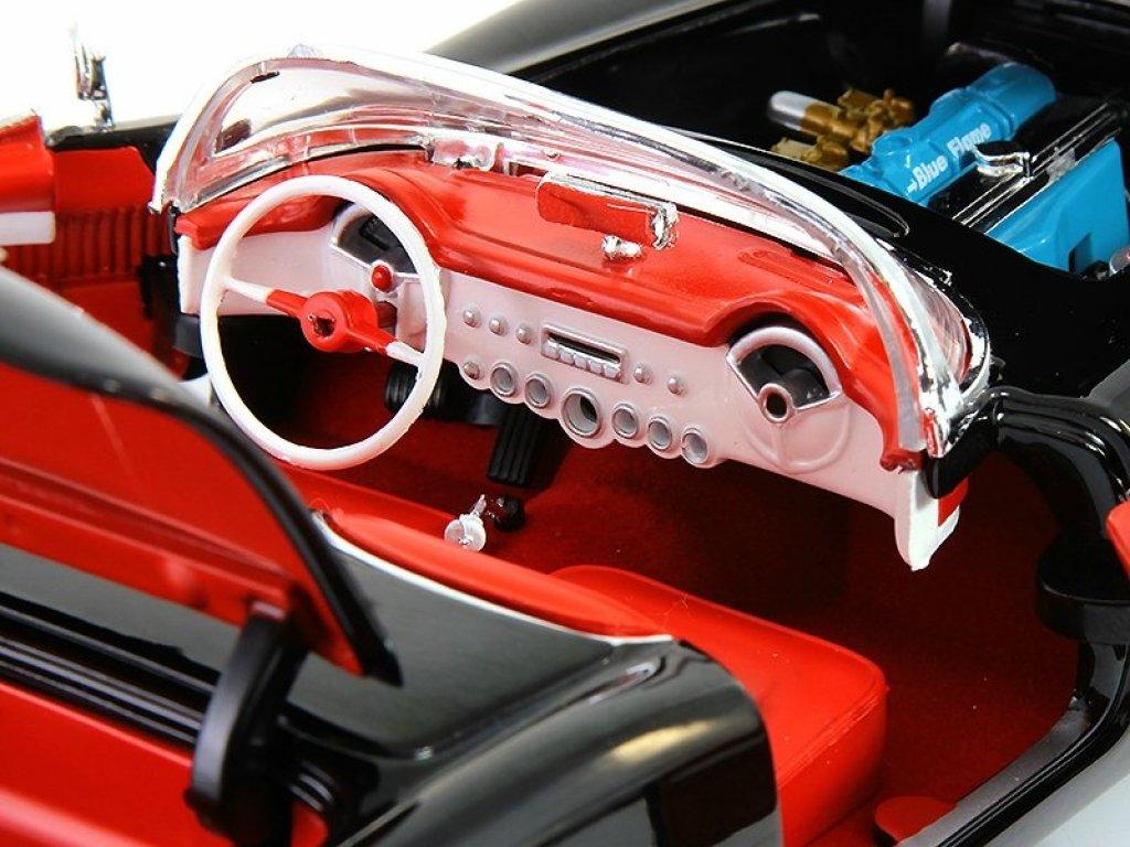 1:18 Auto World Chevrolet Corvette 1954 черный