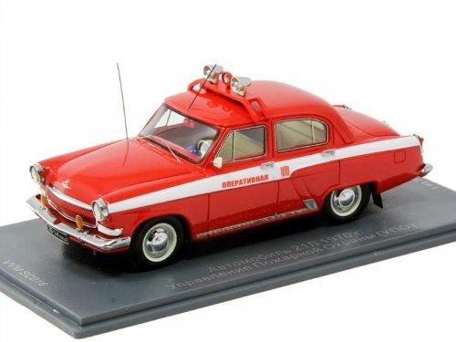 1:43 NEO Автомобиль 21Л 1970 г. Оперативная Управления Пожарной Охраны (УПО) Тираж 300 шт.