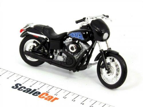 1:18 Maisto Мотоцикл Harley-Davidson Dyna Super Glide Sport 2001 Harry OPIE Winston из т/с Sons Of Anarchy (Сыны Анархии)