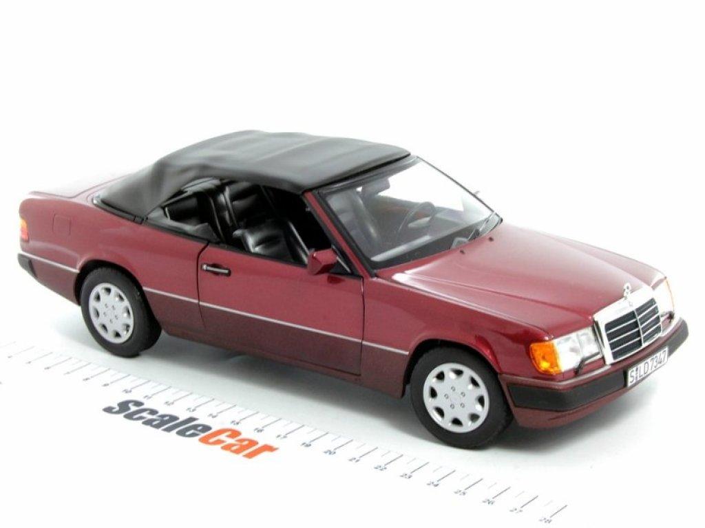 1:18 Norev Mercedes-Benz 300CE-24 Cabrio W124 (A124) 1992 красный