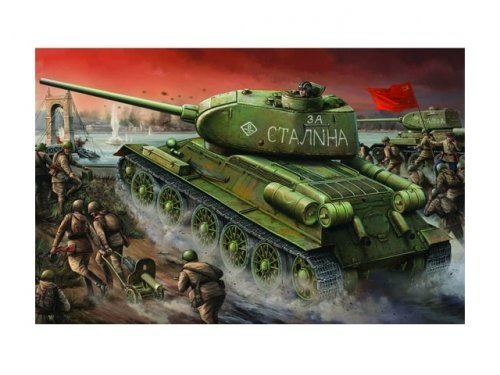 1:16 Trumpeter Советский танк Т-34/85 модель 1944 года завода #174