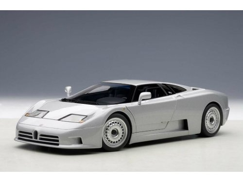 1:18 AUTOart Bugatti EB110 GT 1991 (silver) серебристый