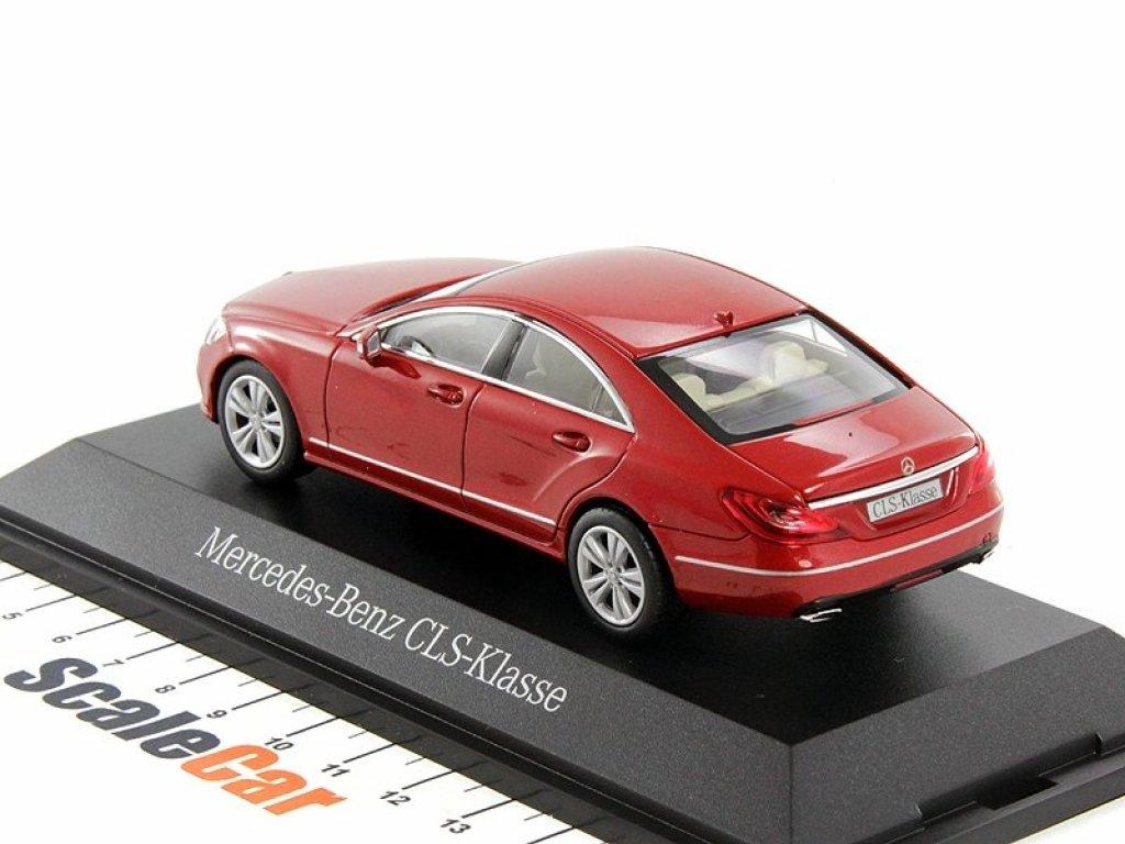 1:43 Norev Mercedes-Benz CLS-Class (C218) 2014 AMG Line hyazinth red metallic