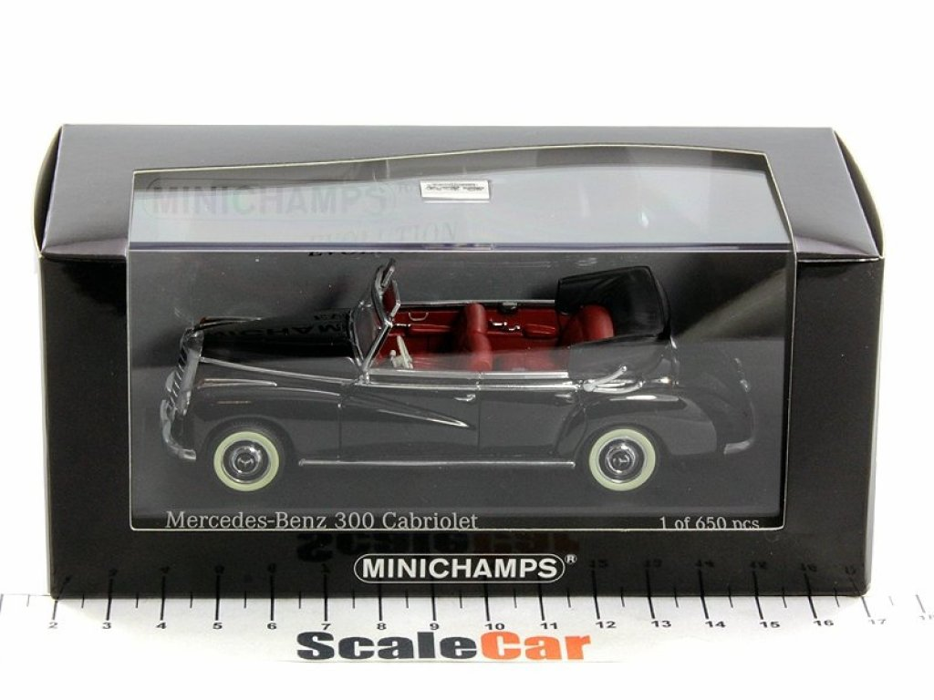 1:43 Minichamps MERCEDES-BENZ 300 CABRIOLET (W186) - 1952 - BLACK