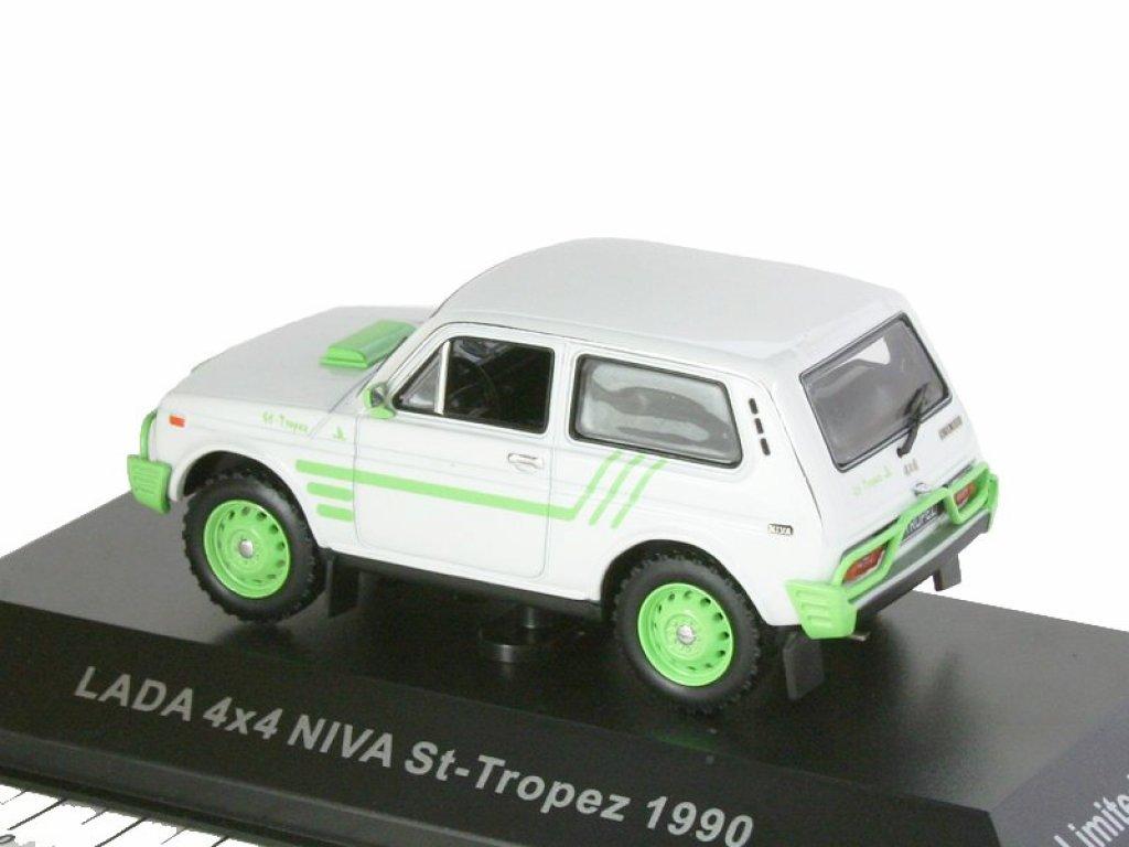 1:43 IST ВАЗ 2121 LADA 4X4 NIVA ST-TROPEZ 1990