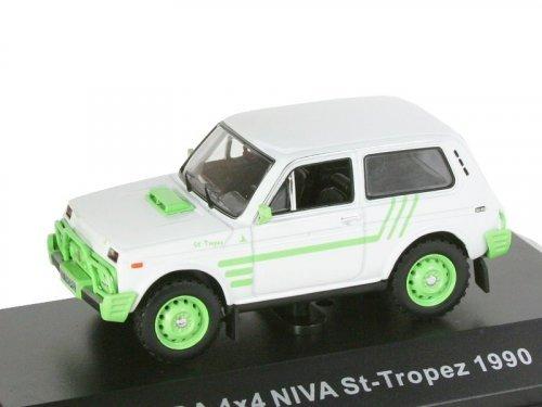 1:43 IST ВАЗ-2121 Нива Lada 4X4 Niva Saint Tropes 1990 (экспортная модификация для Франции)
