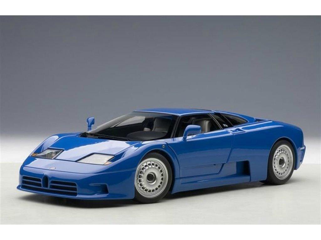 1:18 AUTOart Bugatti EB110 GT 1991 (синий)