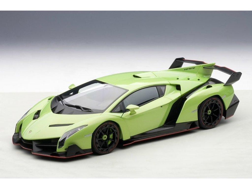 1:18 AUTOart Lamborghini Veneno 2013 (зеленый мет.)
