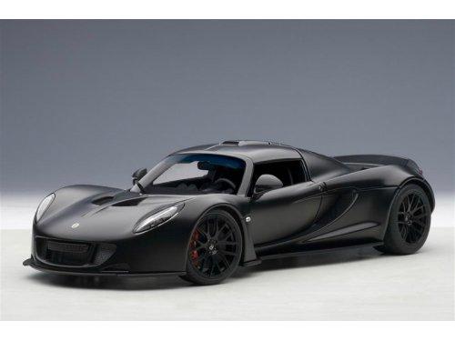 1:18 AUTOart Lotus Hennessey Venom GT Spyder 2010 (черный карбон)