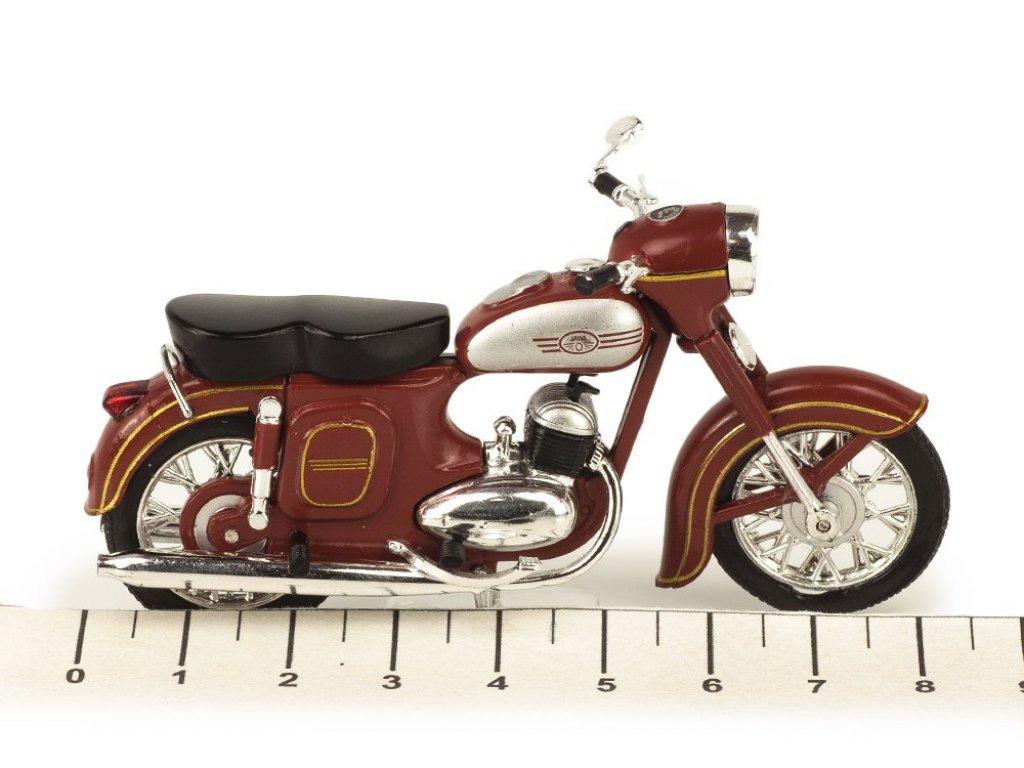 1:24 Atlas Мотоцикл JAWA 350 Kývačka (type 354/04) 1957