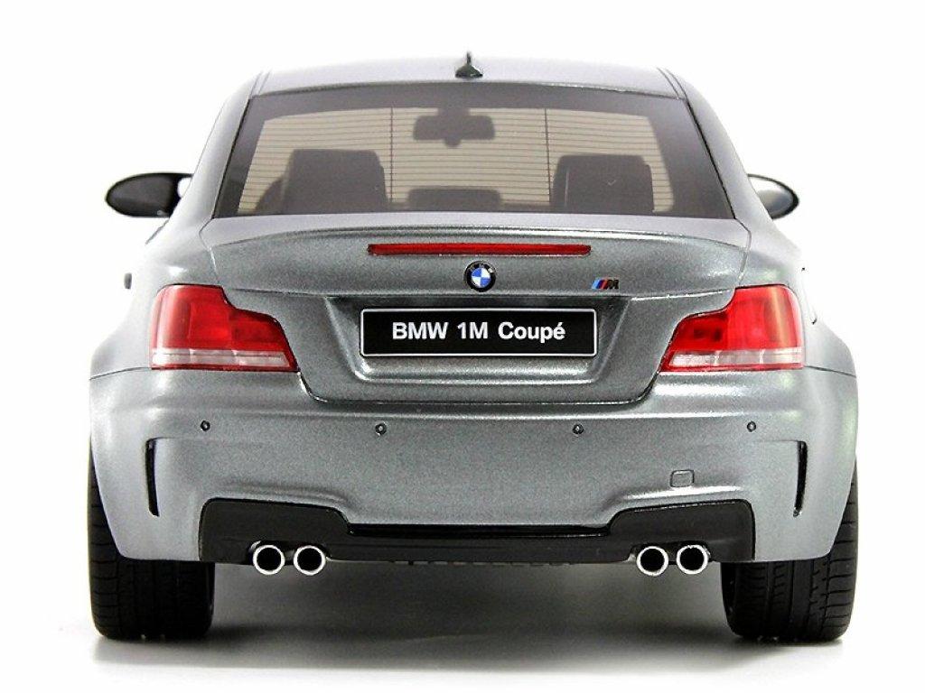 1:18 GT Spirit BMW 1M Coupé (E82) серый матовый