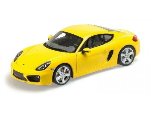 1:18 Minichamps Porsche Cayman 2012 желтый
