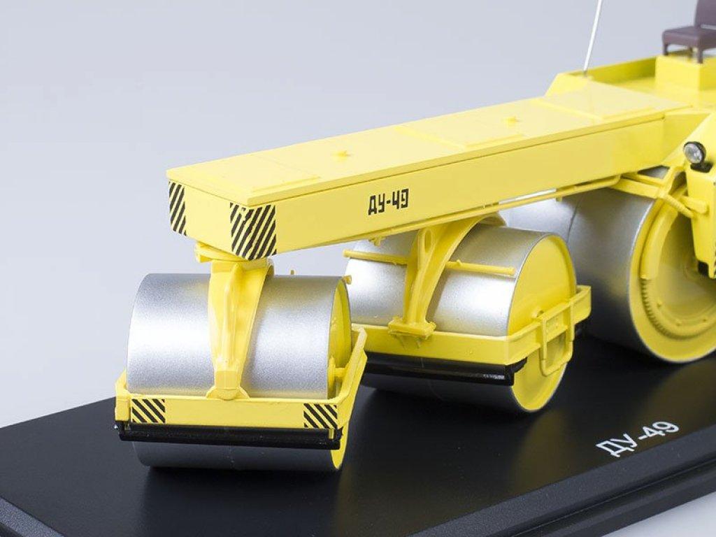 1:43 Start Scale Models Каток ДУ-49 (желтый)