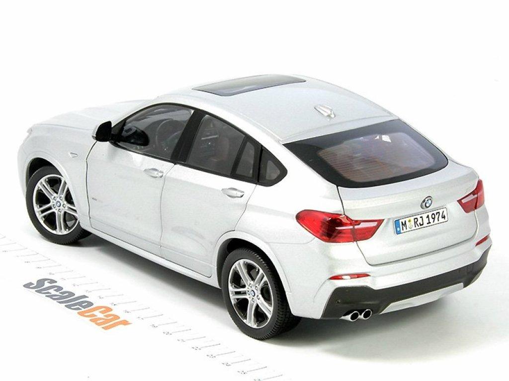 1:18 Paragon BMW X4 F26 серебристый