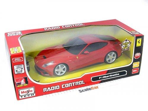 1:14 Maisto Ferrari F12 Berlinetta красный (на радиоуправлении, горят фары)