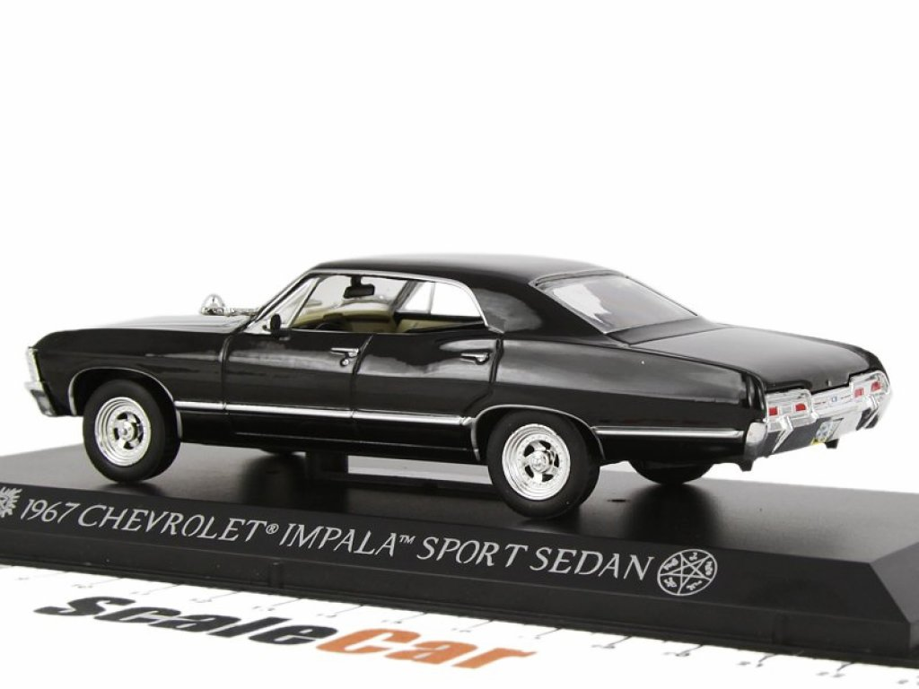 1:43 GreenLight Chevrolet Impala Sports Sedan 1967 из сериала Supernatural (Сверхъестественное)