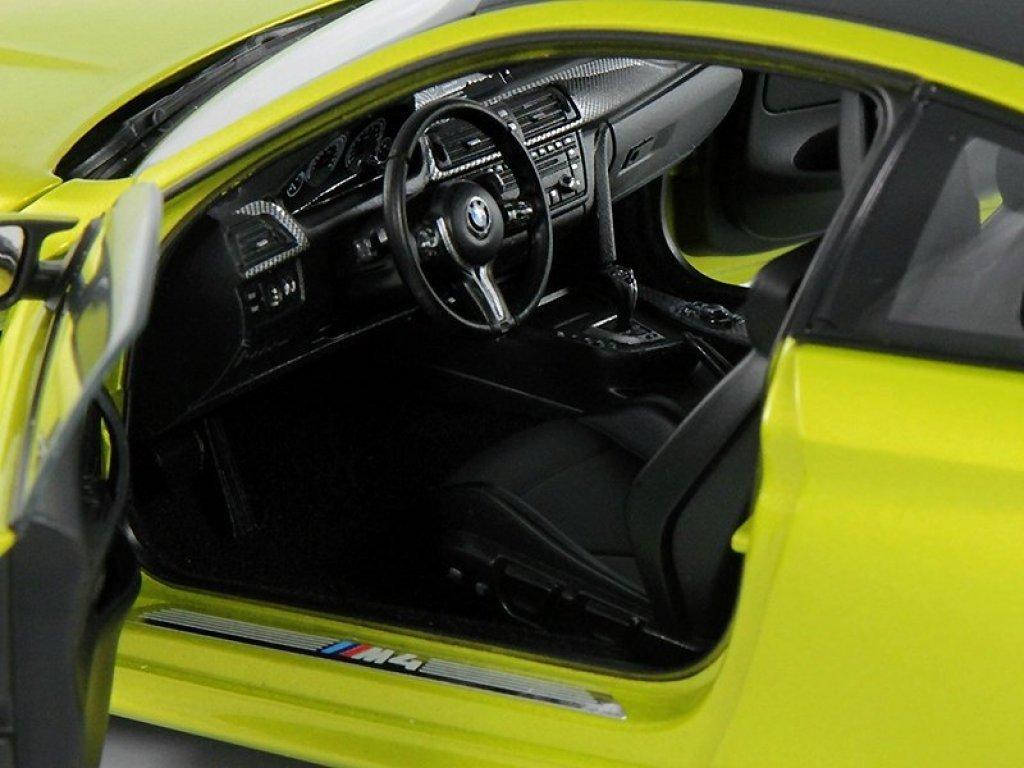 1:18 Paragon BMW M4 F82 2015 желтый мет