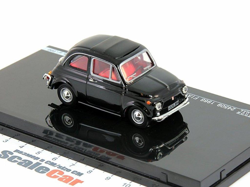 1:43 Vitesse Fiat 500D 1968 черный