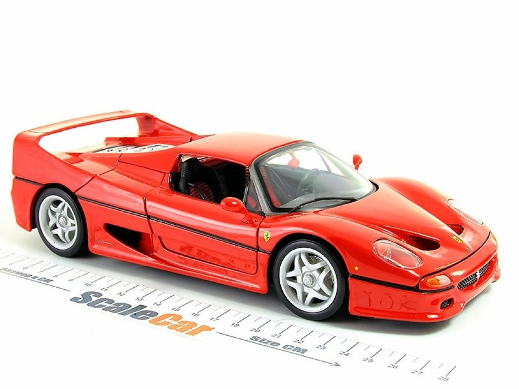 1:18 BBurago Ferrari F50 красный